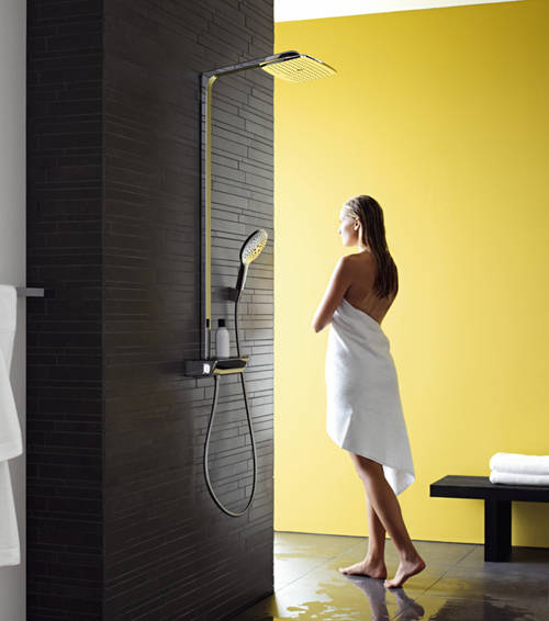 Additional image for Raindance Select E 360 Shower & Bath Pack (White & Chrome).