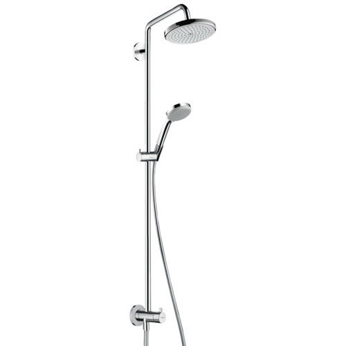 Additional image for Croma 220 Air 1 Jet Showerpipe Reno Pack (Chrome).
