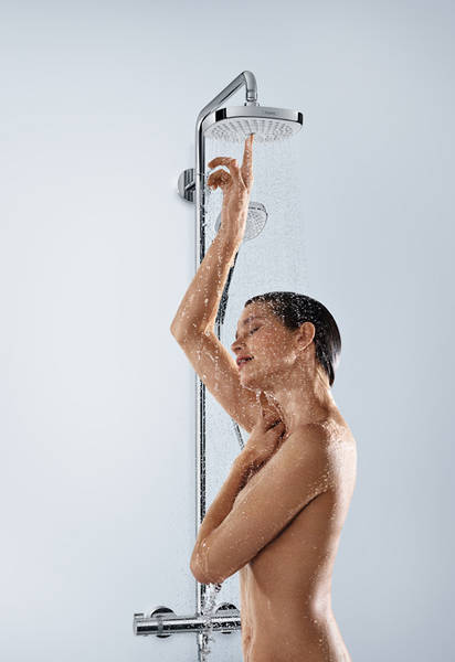 Additional image for Croma Select S 180 2 Jet Showerpipe Pack With EcoSmart.