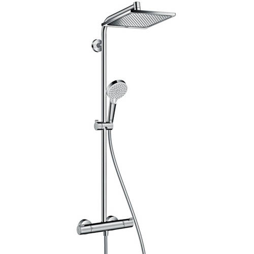 Additional image for Crometta E 240 1 Jet Showerpipe Pack With EcoSmart (Chrome).