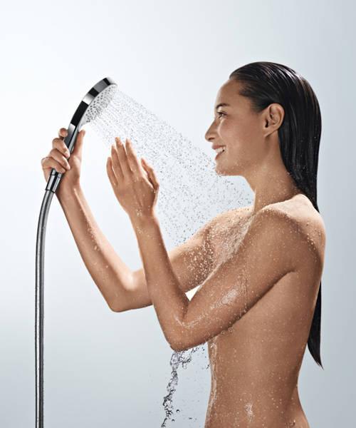 Additional image for Raindance Select E 360 Eco Shower Pack (White & Chrome).