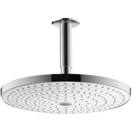 Additional image for Raindance S 300 2 Jet Shower Head & Arm (White & Chrome).
