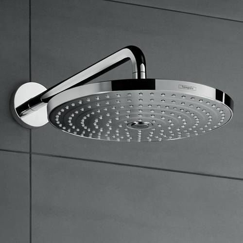 Additional image for Raindance S 300 Air 2 Jet Shower Head & Arm (300mm, Chrome).