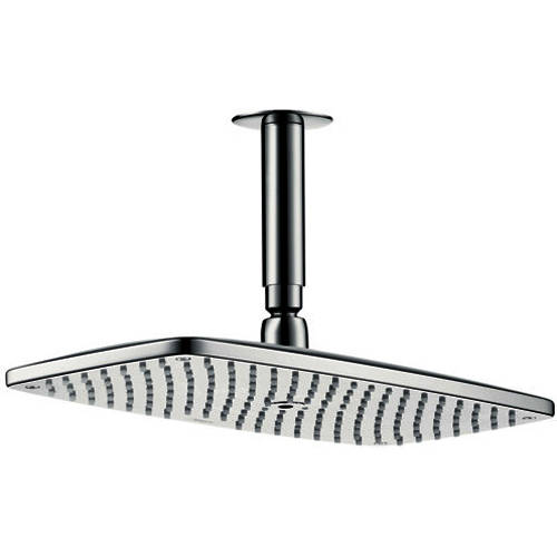 Additional image for Raindance E 360 1 Jet Shower Head & Arm (Brush Black Chrome).