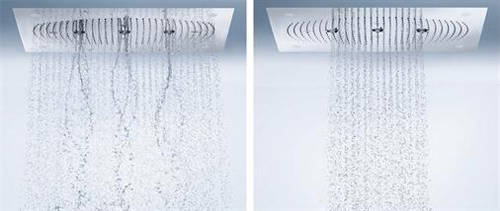 Additional image for Raindance Rainmaker 3 Jet Shower Head & LEDs (680x460mm).