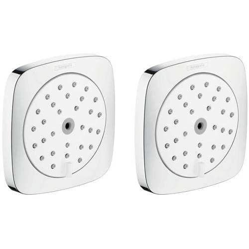Additional image for 2 x Body Jets - Body Shower 100 (White & Chrome).