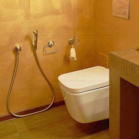 Additional image for Bidet Shower Spray With Holder & Hose (Shattaf).