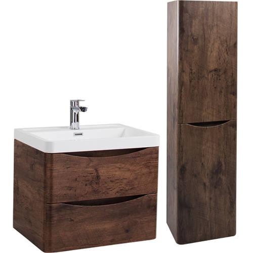 Additional Image For Bali Bathroom Furniture Pack 03 Chestnut