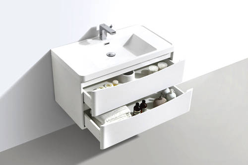 Additional image for Bali Bathroom Furniture Pack 01 (Gloss White).