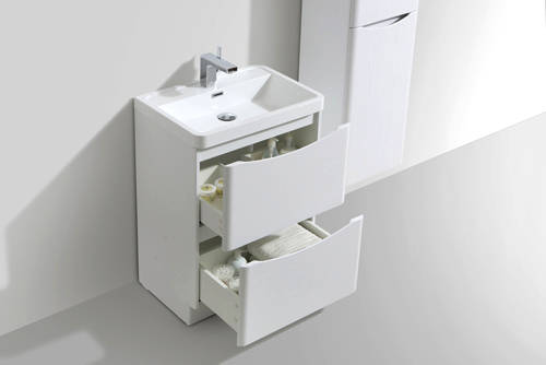 Additional image for Bali Bathroom Furniture Pack 04 (Gloss White).