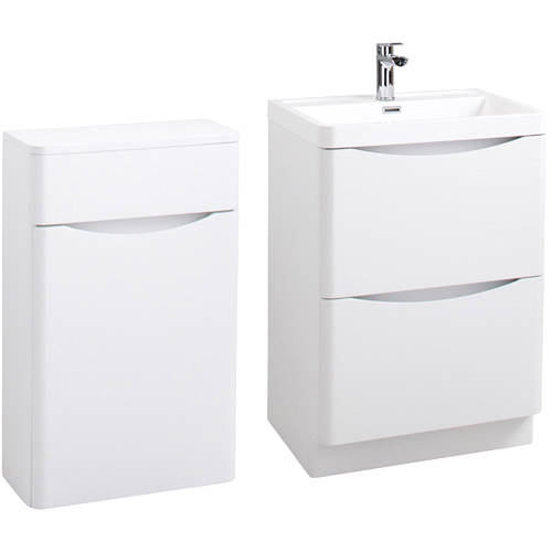 Additional image for Bali Bathroom Furniture Pack 06 (Gloss White).