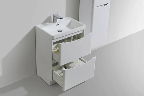 Additional image for Bali Bathroom Furniture Pack 04 (White Ash).