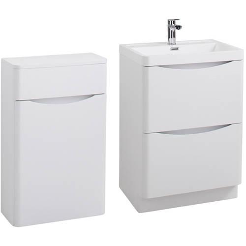 Additional image for Bali Bathroom Furniture Pack 06 (White Ash).