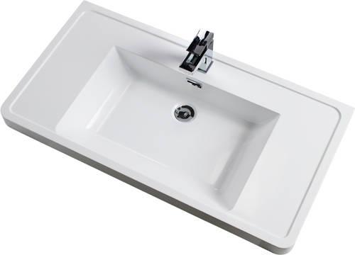 Additional image for Bali Bathroom Furniture Pack 08 (White Ash).