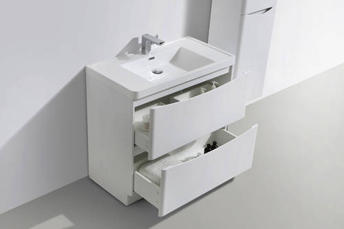 Additional image for Bali Bathroom Furniture Pack 09 (White Ash).