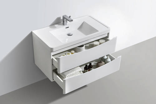 Additional image for Bali Bathroom Furniture Pack 12 (White Ash).