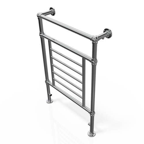 Additional image for Traditional Towel Radiator 965x673mm (Chrome).