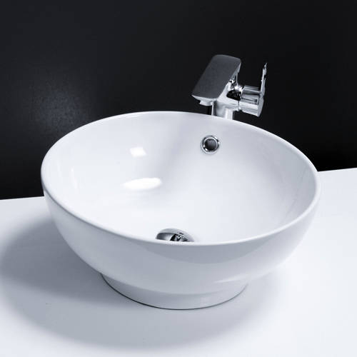 Additional image for Round Counter Top Basin 420mm (No Tap Hole).