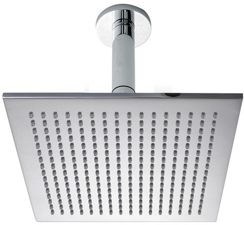 Additional image for 300mm Large Square Shower Head & Ceiling Mounting Arm.