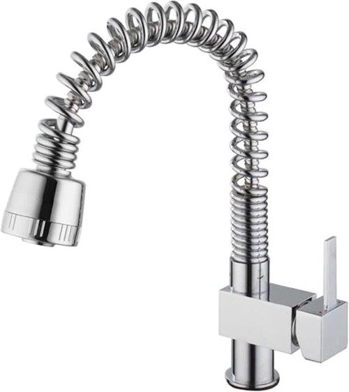 Additional image for Hannah Kitchen Tap With Pull Out Spray Rinser (Chrome).
