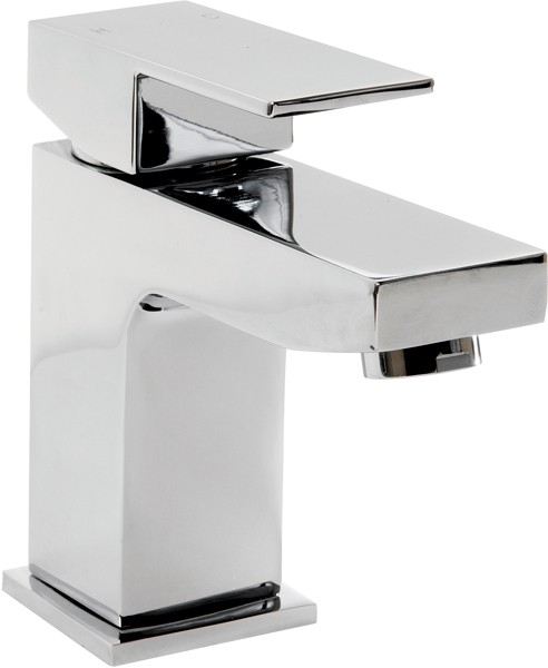 Additional image for Mono Basin Mixer Tap With Click Clack Waste (Chrome).