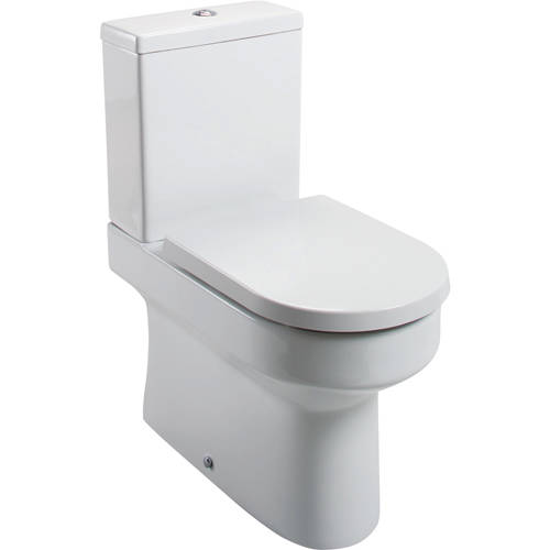 Additional image for Montego Back To Wall Toilet With Cistern & Seat (WRAS approved).