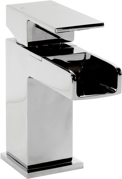 Additional image for Waterfall Mono Basin Mixer Tap With Click Clack Waste.