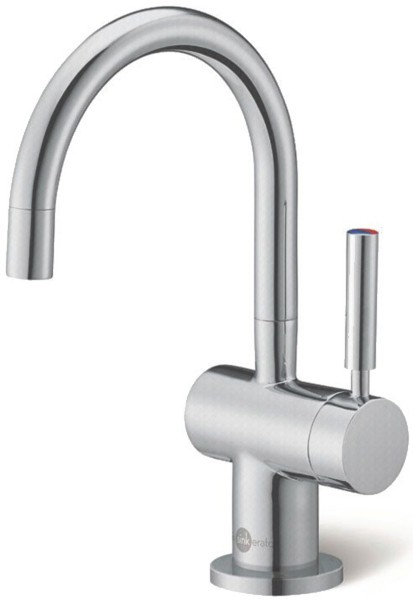 Additional image for Steaming Hot Filtered Kitchen Tap (Brushed Steel).