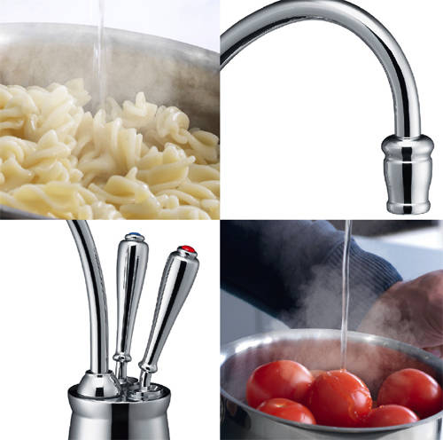 Additional image for Boiling Hot & Cold Filtered Kitchen Tap (Chrome).