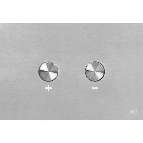 Additional image for Pneumatic Flush Plate Only (Stainless Steel).