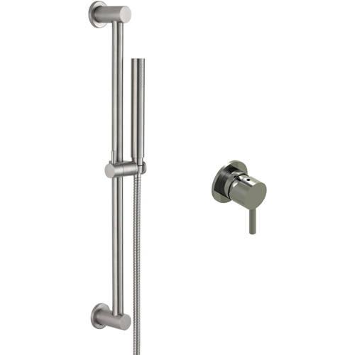 Additional image for Concealed Shower Valve & Slide Rail Kit (Stainless Steel).