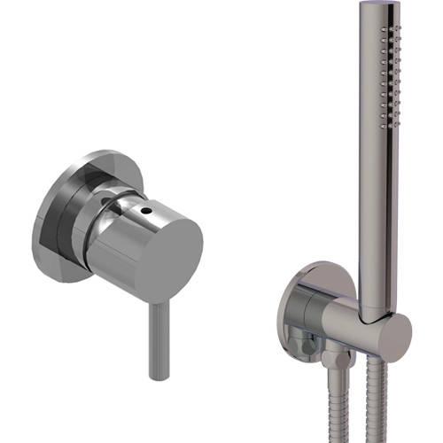 Additional image for Concealed Shower Valve & Shower Kit (Stainless Steel).