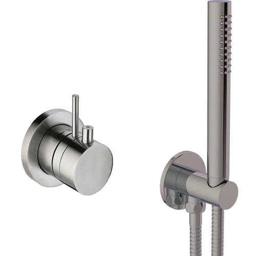 Additional image for Thermostatic Shower Valve & Shower Kit (Stainless Steel).