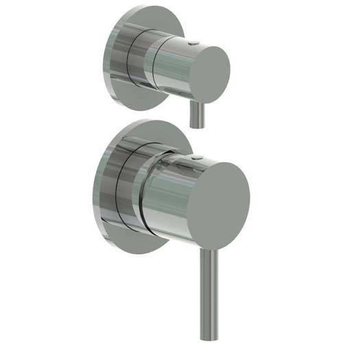 Additional image for Manual Shower Valve, Ceiling Head & Slide Rail Kit (S Steel).