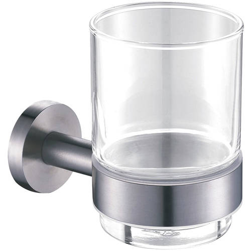 Additional image for Tumbler & Holder (Stainless Steel).