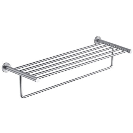 Additional image for Towel Shelf With Rail (643mm, Stainless Steel).