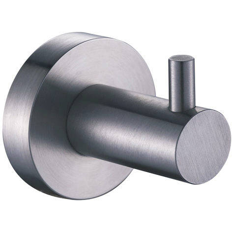 Additional image for Single Robe Hook (Stainless Steel).