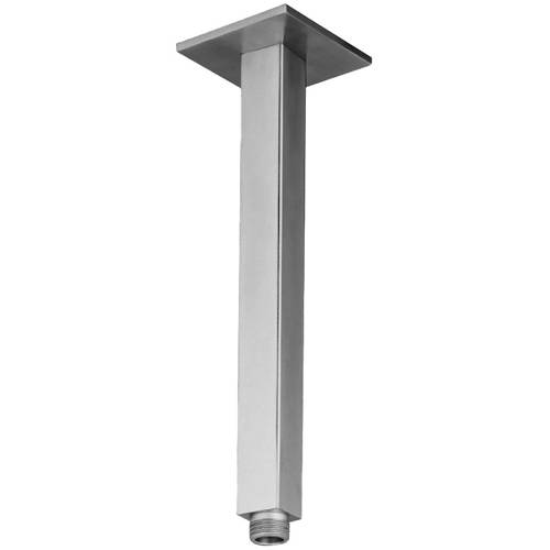 Additional image for Square Ceiling Mounting Shower Arm (Stainless Steel).