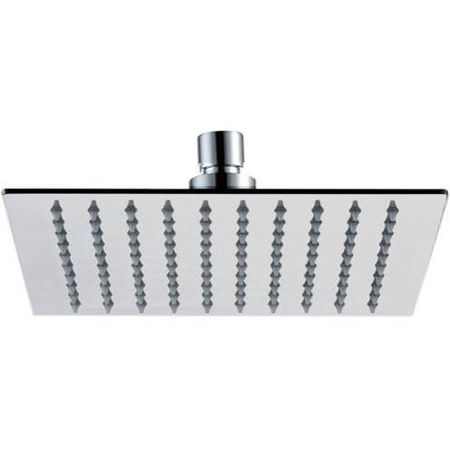 Additional image for Slim Square Shower Head (250x250mm, Stainless Steel).