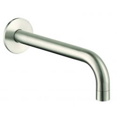 Additional image for Wall Mounted Bath Spout (250mm, Stainless Steel).