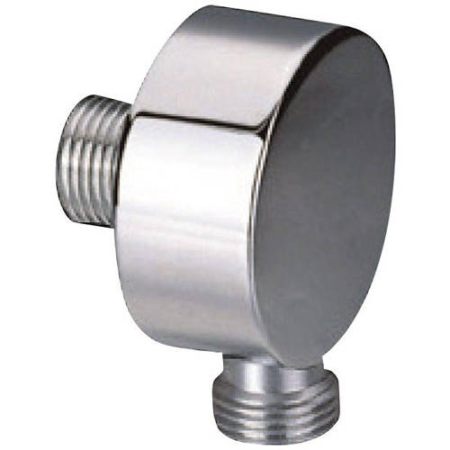 Additional image for Shower Wall Outlet Elbow (Stainless Steel).