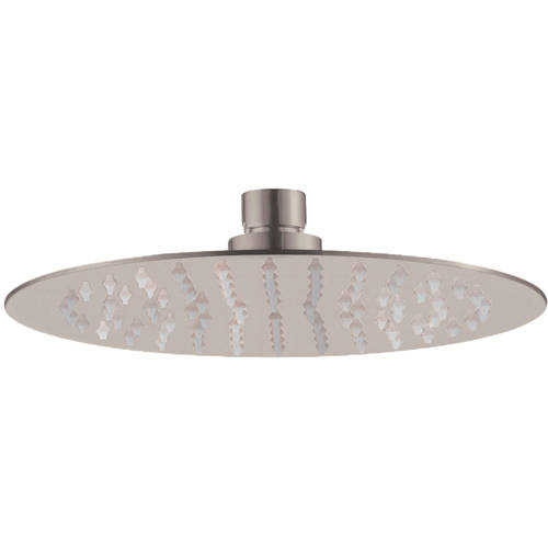 Additional image for Glide Round Shower Head (200mm, Stainless Steel).