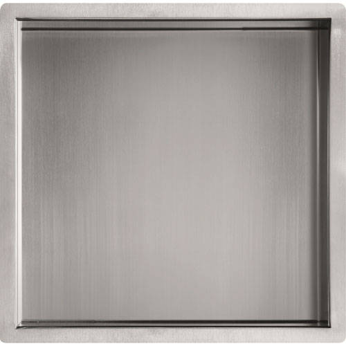 Additional image for Shower Niche (300x300mm, Stainless Steel).