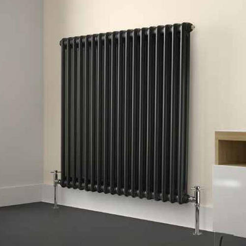 Additional image for Laser Klassic Horizontal Radiator 830x600mm (2 Col, Anthr).