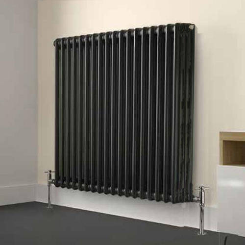 Additional image for Laser Klassic Horizontal Radiator 1190x400mm (4 Col, Anthr).