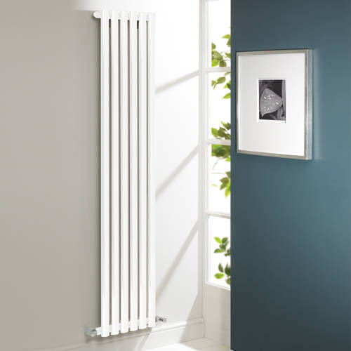 Additional image for Aspen Radiator 300W x 1800H mm (Single, White).