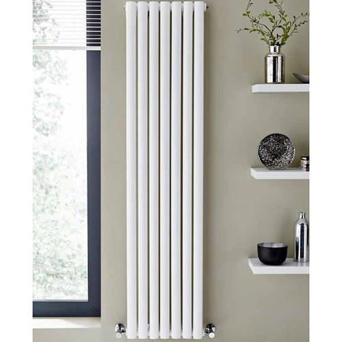 Additional image for Aspen Radiator 540W x 1800H mm (Double, White).