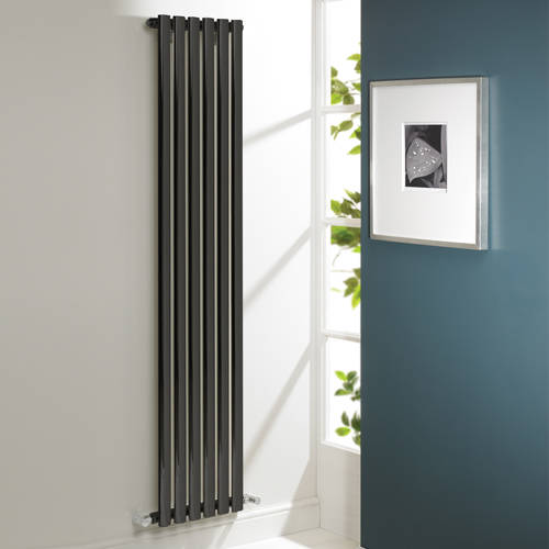 Additional image for Aspen Radiator 540W x 1800H mm (Single, Anthracite).