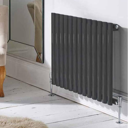 Additional image for Aspen Radiator 1140W x 600H mm (Single, Anthracite).