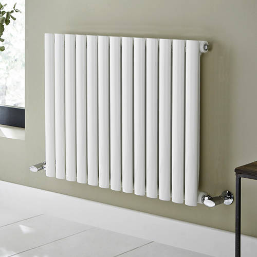 Additional image for Aspen Radiator 1140W x 600H mm (Single, White).
